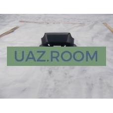 Консоль  отопителя  УАЗ 452 стеклопластик