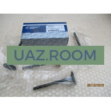 Клапан  впускной ВАЗ 2101-2107, 2121 карб. (к-т 4 шт.)  'ЗМЗ' ОРИГИНАЛ