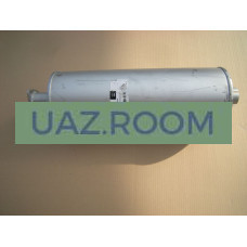 Глушитель  УАЗ 3151, 3741, Хантер (карб.) ЛЮКС (бочка) основная часть