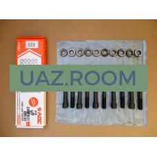 Комплект крепежа головки блока УАЗ 409, ГАЗ 405 дв. ЕВРО-3 (болты, шайбы) 'АДС' **