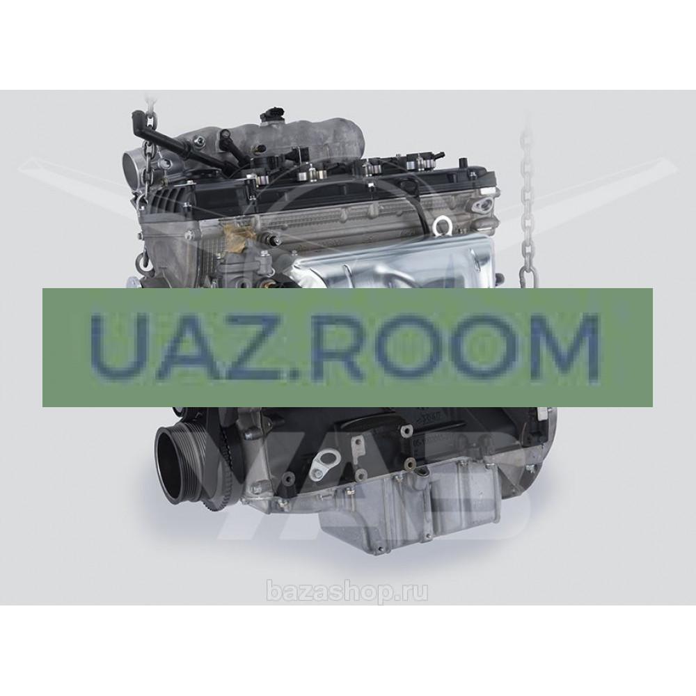 Двигатель  ЗМЗ-409052 УАЗ ПРОФИ c ГБО (без сцепления, без датчика фазы и термоклапана)