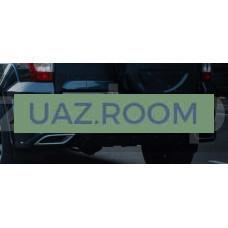 Бампер  УАЗ Патриот задний с 10.2014 (обвес 'GRAND Патриот'), с подкрылками