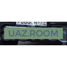 Решётка  облицовки бампера  УАЗ Патриот переднего центральная (обвес 'GRAND Патриот'), с крепежом