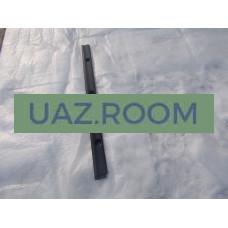 Облицовка  задней рейки крыши  УАЗ Хантер (планка багажного отсека)
