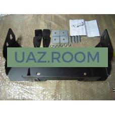 Кронштейн  лебёдки Патриот в штатный бампер (для лебедок S9000, X9,TS9500,LP8500,HEW-8500) 5 мм