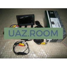 Комплект установочный камеры заднего вида  УАЗ ПРОФИ (камера, монитор 4,3