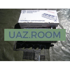 Головка  блока в сб.  УАЗ 4091, 40911 дв. (Евро-3