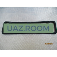 Прокладка  клапанной крышки (коромысел)  УАЗ, ГАЗ дв.402, 4215, 4216 Евро-3 (резина) 'УМЗ' **