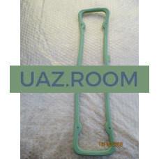 Прокладка  клапанной крышки (коромысел)  УАЗ, ГАЗ дв.402 (СИЛИКОН, ЗЕЛЕНЫЙ)