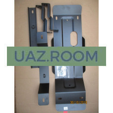 Защита  картера и КПП  УАЗ 3303, 452 (штампованный лист, сталь 3,4 мм)