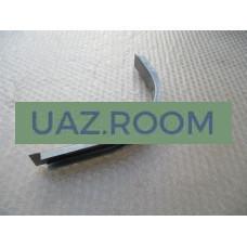 Рейка  каркаса панели боковой угловой задней  УАЗ 3303, 33036, 39094 нижняя
