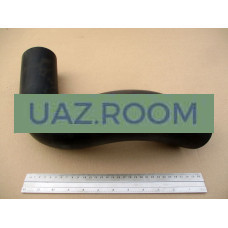 Патрубок  охладителя радиатора ГАЗ 3310 Валдай угловой 'ГАЗ'