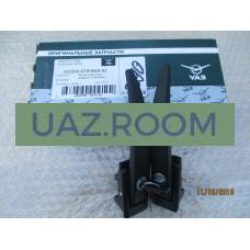 Ручка  двери  боковой наружная  УАЗ 452, 3741, 3303 с ключом чёрная (к-т 2 шт.) 'УАЗ' (ЗАВОД)