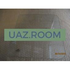 стекло  УАЗ 452 окна раздвижного прямоугольное 350х330 мм