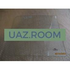 стекло  УАЗ 452 окна раздвижного прямоугольное 372х355 мм