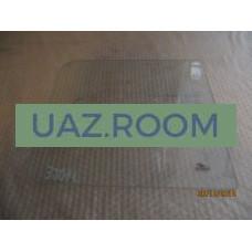стекло  УАЗ 452 окна раздвижного прямоугольное 374х347 мм