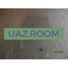 стекло  УАЗ 452 окна раздвижного прямоугольное 379х234 мм
