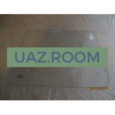 стекло  УАЗ 452 окна раздвижного прямоугольное 431х353 мм