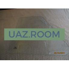стекло  УАЗ 452 окна раздвижного треугольное 403х377 мм