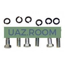 Комплект крепления нажимного диска сцепления (корзины)  ГАЗ, УАЗ 'MetalPart'