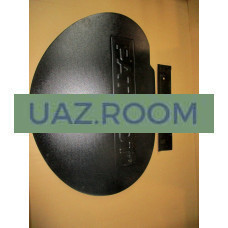 Заглушка  запасного колеса на заднюю распашную дверь УАЗ Патриот(пластик, тиснение)