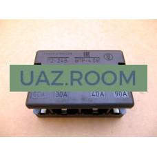 Блок  предохранителей ГАЗ 33104 Валдай (60А+30А+40А+90А) БПР-4.08 **