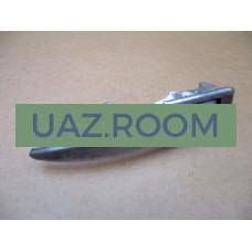 Ручка  двери  боковой наружная  УАЗ 452 с ключом полированная 'УПРЗ'