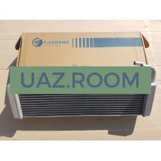 Радиатор  отопителя  УАЗ 469 (трубки 16мм) АЛЮМИНИЙ ТРЕХрядный 'LUZAR'
