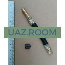 Удлинитель  вентиля колеса резиновый L=125мм 'НОРМ'