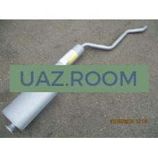 Глушитель  с резонатором УАЗ 2206, 3741, 3962 дв.ЗМЗ 4091 ЕВРО-4 (