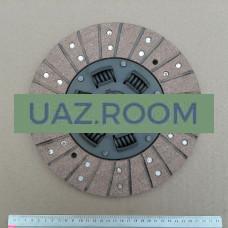 Диск  сцепления  УАЗ дв.4178,4218 (под корзину D254 мм, широкий вал 4-хст. КПП) 'АДС' (в уп.)
