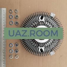 Гидромуфта (привода вентилятора) ГАЗель Бизнес дв.CUMMINS 2.8 (ГОЛАЯ) (168 мм) 'HOTTECKE' **