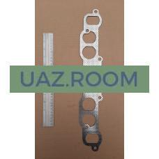 Прокладка  коллектора  УАЗ  нового образца, ГАЗ дв.402 (перфометалл)** 'ESPRA'