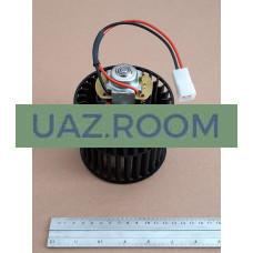 Мотор  отопителя ГАЗ 3110, 2217, 2121, 3302 в сборе с КРЫЛЬЧАТКОЙ (с 2003 г.)**