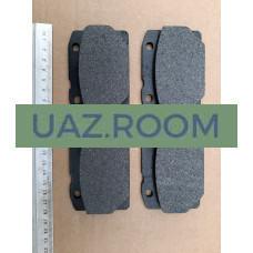 Колодка  тормозная передняя ВАЗ-2101-2107, ИЖ-27175 (к-кт 4шт.)