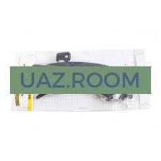Ручка  двери  боковой наружная  УАЗ 452, 3741, 3303 с ключом чёрная (к-т 2 шт.) 'MetalPart'