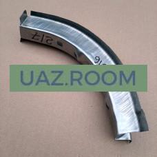Надставка  рейки панели передка  УАЗ 452 левая