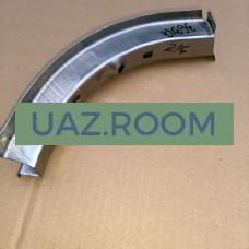 Надставка  рейки панели передка  УАЗ 452 правая