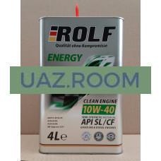 МАСЛО МОТОРНОЕ Rolf Energy SAE 10W40 API SL