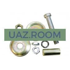 Комплект установочный амортизатора  УАЗ Патриот, CARGO, PICKUP, 3162 переднего 'MetalPart'
