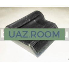 Накладка  петли ветрового окна  УАЗ 469, Хантер (резиновая)**