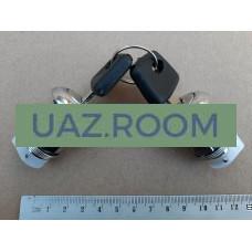 Вставка  двери с ключом  УАЗ Патриот к-кт 2 шт. (2 ключа + 2 вставки)