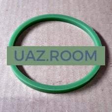 Кольцо  уплотнительное корпуса маслянного фильтра нижнее ГАЗ-53 (ЗЕЛЕНЫЙ СИЛИКОН)**