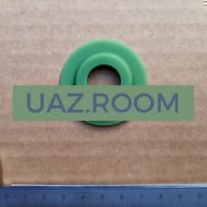 Прокладка  масляного фильтра ГАЗ, УАЗ дв.402 (кольцо уплотнительное) ЗЕЛЕНЫЙ СИЛИКОН**