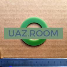 Прокладка  масляного фильтра ГАЗ 53, 3307 (внутренняя, нижняя) ЗЕЛЕНЫЙ СИЛИКОН**
