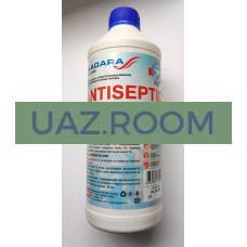 Антисептик  для рук с антибактериальным эффектом 1,5 л, ПНД, с крышкой 'Antiseptic Liquid'