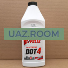 Тормозная жидкость 'FELIX DOT 4' (910г.)