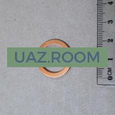 Кольцо  уплотнительное трубки слива масла с турбины медное (17*21*1,5) дв.IVECO  УАЗ Патриот 'IVECO'