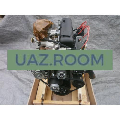 Двигатель  УМЗ-4215 АИ-92 ГАЗель 3302, карбюратор, с лепестковым сцеплением (96 л.с.) в сборе