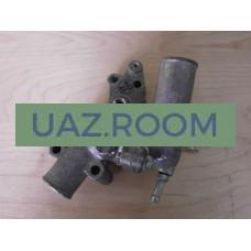 Корпус  термостата  дв.4215 ГАЗель (в сборе с термостатом)